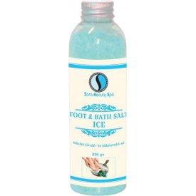Sara Beauty Spa hűsítő fürdő- és lábáztató só Ice, 330 g