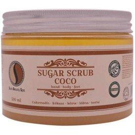 Sara Beauty Spa Sugar Scrub cukorradír, kókusz, 500 ml