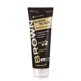 Tannymax Super Black Tanning Lotion, 125 ml