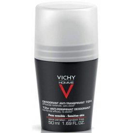 Vichy Homme 72 h golyós dezodor férfiaknak, 50 ml