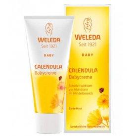 Weleda Calendula (pelenkakiütés elleni) baba krém. 75 ml