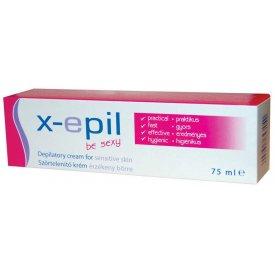 X-Epil szőrtelenítő krém érzékeny bőrre, 75 ml XE9204