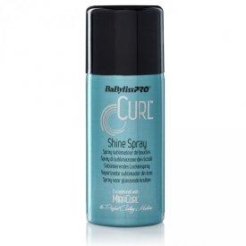 BaByliss Pro Curl Shine fényvisszaverő hatású hajápoló göndör hajra