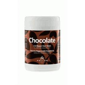 Kallos intenzív regeneráló csokoládé hajpakolás száraz hajra, 1 l