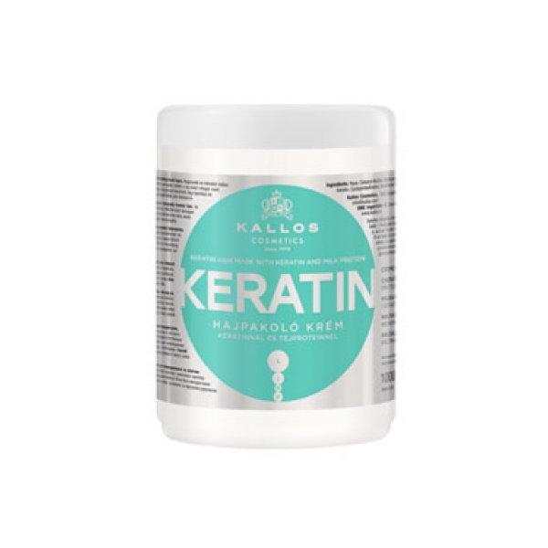 Kallos KJMN keratin hajpakolás keratinnal és tejproteinnel, 1 l
