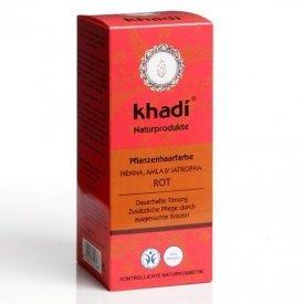 Khadi hajfesték por vörös (henna+amla+jatropha)