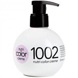 Revlon Nutri Color Creme színező hajpakolás 1002 White Platinum, 250 ml