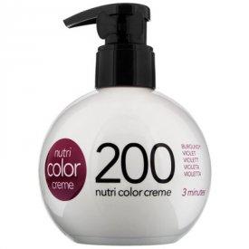 Revlon Nutri Color Creme színező hajpakolás 200 Violett, 250 ml