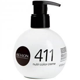Revlon Nutri Color Creme színező hajpakolás 411 Brown, 250 ml