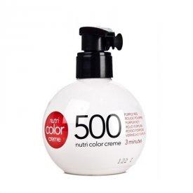 Revlon Nutri Color Creme színező hajpakolás 500 Purple Red, 250 ml