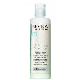 Revlon Professional Interactives  S.O.S Calm fejbőrnyugtató sampon, 250 ml